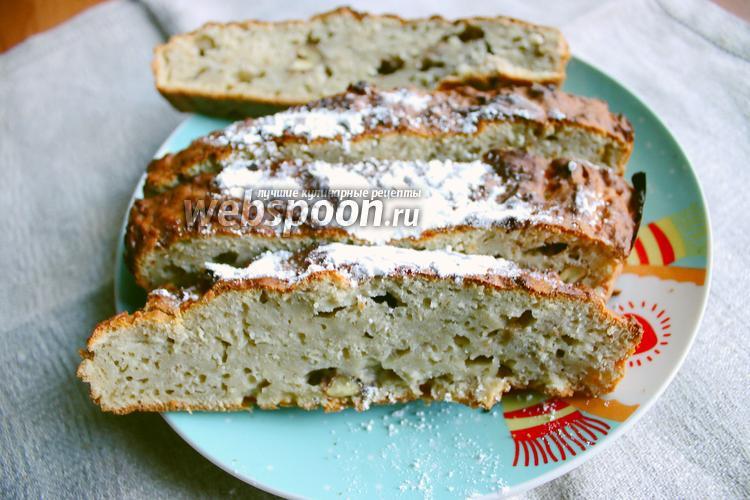 Фото Яблочный кекс с корицей