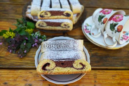 Фото рецепта Печенье Дедушкины усы