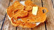 Фото рецепта Блины из льна и сливочного сыра без муки