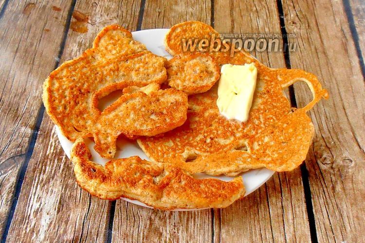 Фото Блины из льна и сливочного сыра без муки