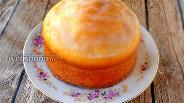 Фото рецепта Протеиновый кекс с лимонной глазурью