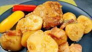 Фото рецепта Курица с молодой картошкой в яблочном соке. Видео