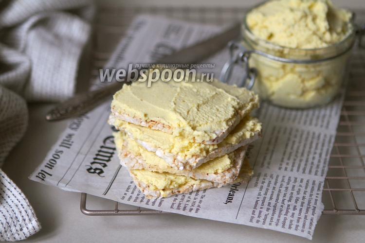 Фото Яичный сырный паштет