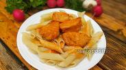 Фото рецепта Куриное филе в томатно-чесночном соусе в духовке