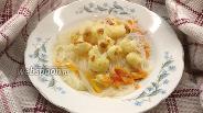 Фото рецепта Фунчоза с цветной капустой