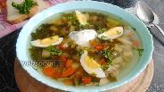 Фото рецепта Суп из молодой крапивы в мультиварке