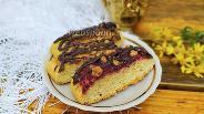 Фото рецепта Нарезное печенье с вареньем и орехами