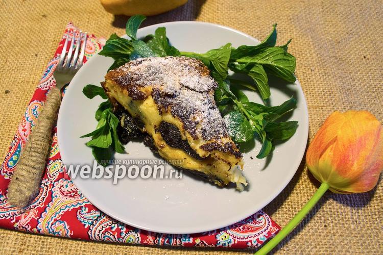 Фото Бретонский пирог с черносливом