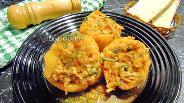 Фото рецепта Фаршированные перцы с булгуром и фаршем