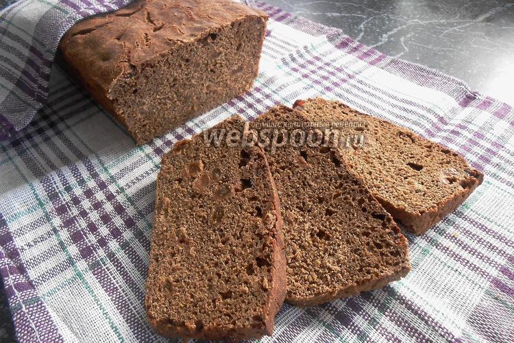 Фото Балтийский хлеб с изюмом на ржаной закваске