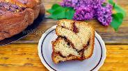 Фото рецепта Творожный кранч с орехами и шоколадом