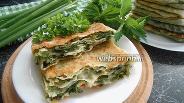Фото рецепта Катлама с крапивой