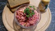 Фото рецепта Салат из свёклы и яиц