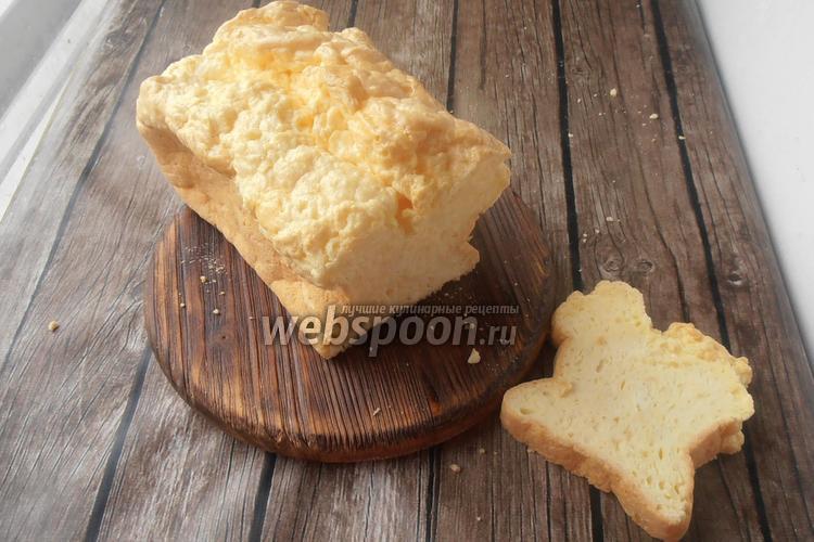 Фото Яичный хлеб без глютена