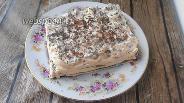 Фото рецепта Кето торт с творожно-сливочным кремом