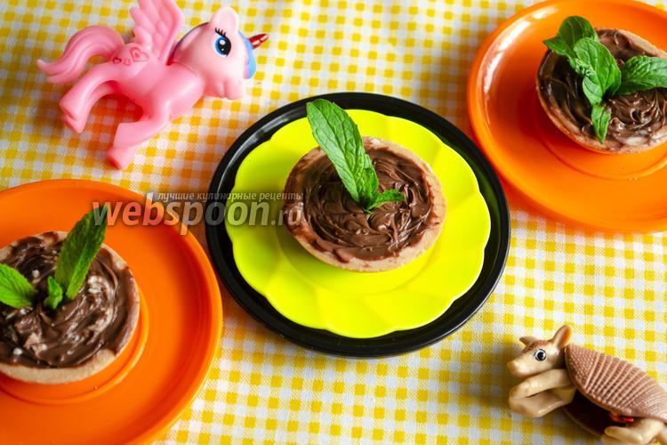 Фото Детская закуска с крем-сыром