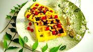 Фото рецепта Кукурузные вафли