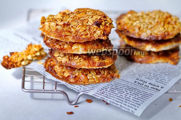 Фото Овсяное печенье без муки с кешью