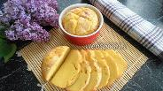 Фото рецепта Кукурузный хлеб с кунжутом в кокотницах