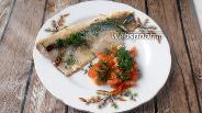 Фото рецепта Сельдь, жареная с помидорами, чесноком и укропом