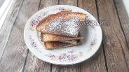 Фото рецепта Десертная лепёшка без муки с кокосовой стружкой