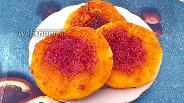 Фото рецепта Ватрушки с рисовой мукой и вареньем