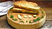 Фото рецепта Овсяноблин с сыром, авокадо и красной рыбой