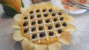 Фото рецепта Салат Подсолнух с сардинами