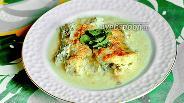 Фото рецепта Судак в сметане в духовке