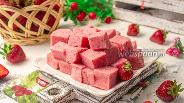 Фото рецепта Клубничное суфле ПП без сахара