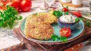 Фото рецепта Оладьи из кабачка с отрубями без муки