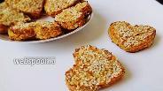 Фото рецепта Низкокалорийные печенья с яблоками и морковью