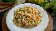 Фото рецепта Настоящий салат «Оливье»