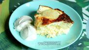 Фото рецепта Творожная запеканка с половинками груш без сахара