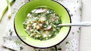 Фото рецепта Окрошка на квасе с кислой капустой