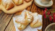 Фото рецепта Сдобные булочки конвертики с вареньем