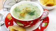 Фото рецепта Суп-пюре на рыбном бульоне