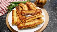Фото рецепта Куриные палочки на сковороде