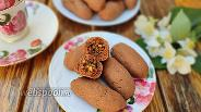 Фото рецепта Шоколадное печенье с сухофруктами и орехами