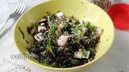 Фото рецепта Салат со свёклой и морской капустой