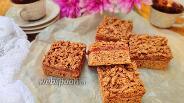Фото рецепта Шоколадный тёртый пирог с джемом и вишней