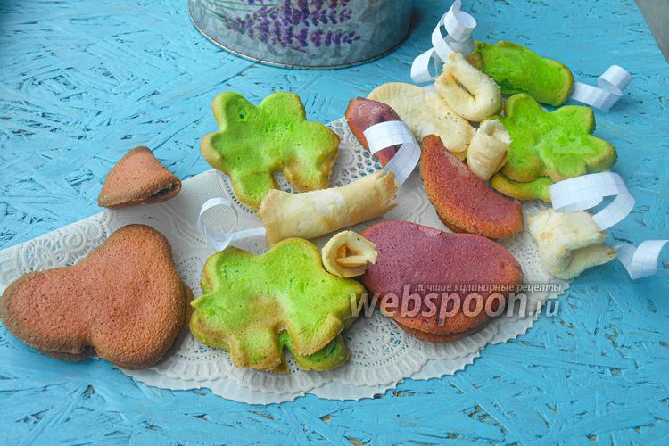 Фото Печенье с предсказаниями цветное