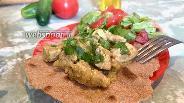 Фото рецепта Чапати с индейкой
