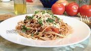Фото рецепта Паста с тунцом в томатном соусе
