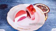 Фото рецепта Клубничное муссовое пирожное