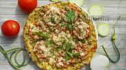 Фото рецепта Кабачковая пицца с фаршем