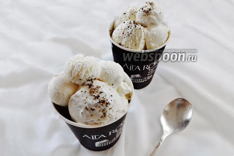 Фото Мороженое из сливок и сгущёнки