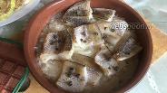 Фото рецепта Судак, тушёный в вине