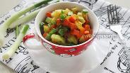 Фото рецепта Овощной гарнир с соевым соусом