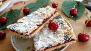 Фото рецепта Венское печенье с вишней